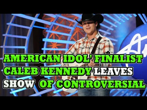 Breaking:American Idol finalist Caleb Kennedy leaves show in wake of controversial social media post