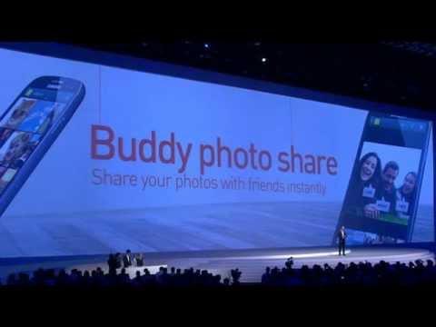 Presentación del Samsung Galaxy S3 (S III)