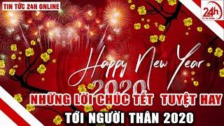 Những lời chúc mừng năm mới 2020 ý nghĩa gửi người thân yêu | Thiệp Chúc Mừng năm Mới Tết Canh Tý