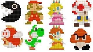 Super Mario Party - Puzzle Hustle - Minigame - Stage 1-10
