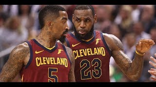 LeBron's furious reaction to J R  Smith became first NBA Finals meme