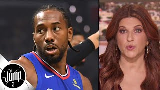 Rachel Nichols recaps the epic Lakers vs. Clippers opener | The Jump