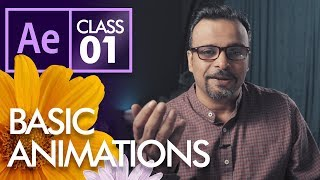 Basic Animations in After Effects  - Urdu Hindi