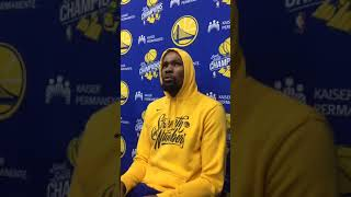 "KD (Durant) on dealing with death of Cliff Dixon: basketball is ""therapeutic"""