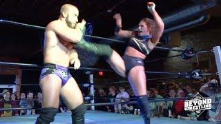 [Free Match] Kris Stadtlander vs. John Silver | Beyond Wrestling #PleaseComeBack (Intergender Mixed)