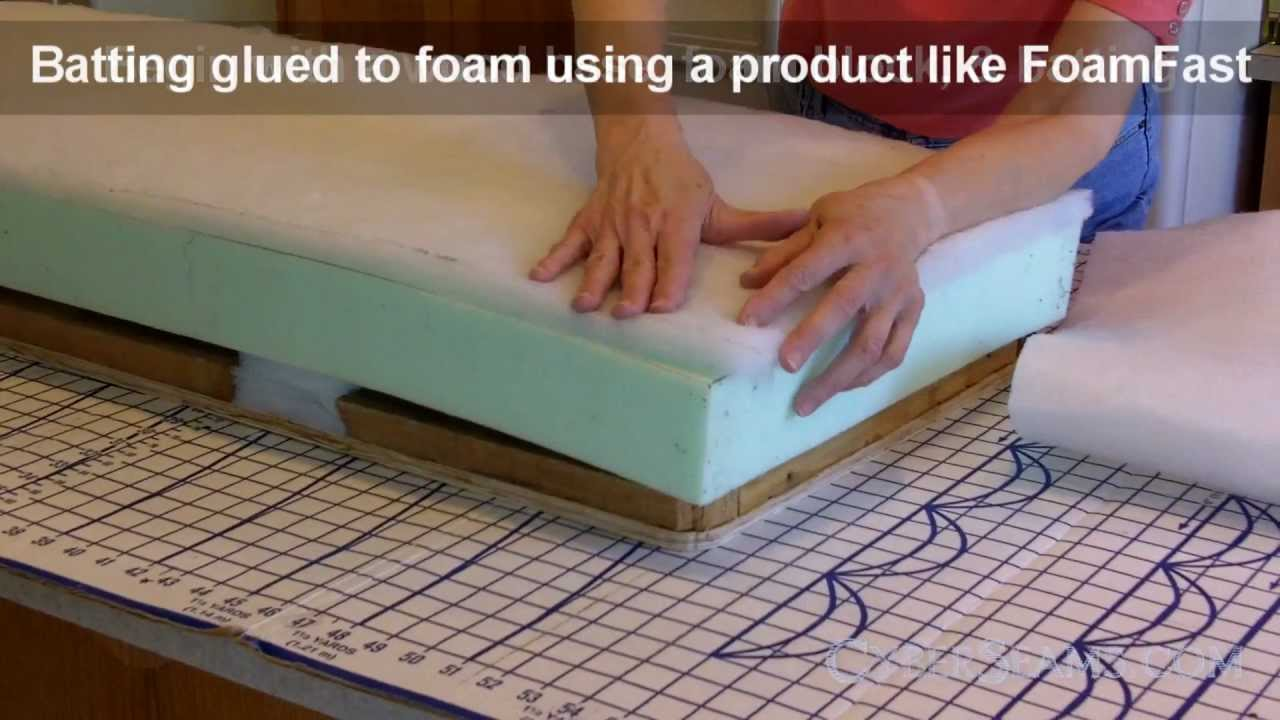 How To Upholster A Bench Youtube