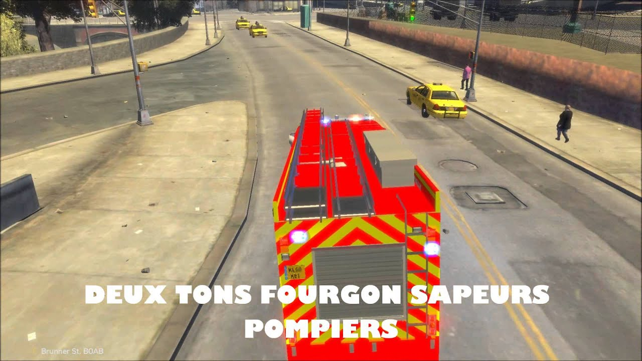 gta iv sir ne fran aise ambulance fourgon gendarmerie police youtube. Black Bedroom Furniture Sets. Home Design Ideas