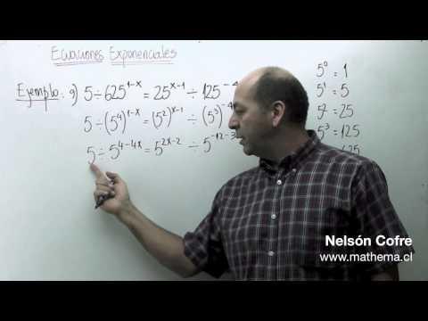 Ecuaciones exponenciales 5