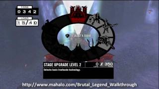 Brutal Legend Walkthrough - Mission 18: Dry Ice, Wet Graves Part 1