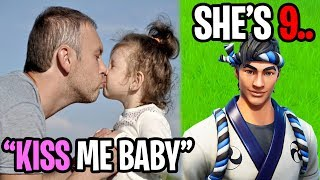 A Fortnite Predator Tried Kissing My Little Sister..