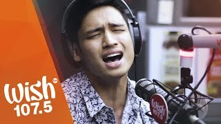 /michael pangilinan sings bakit ba ikaw live on wish 1075 bus