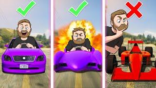 Car Scavenger Hunt Challenge! | GTA5