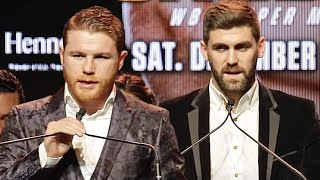CANELO ALVAREZ VS ROCKY FELDING - THE FULL NEW YORK KICK OFF PRESS CONFERENCE & FACE OFF VIDEO