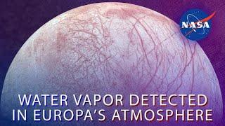 Water Vapor Detected In Europa's Atmosphere