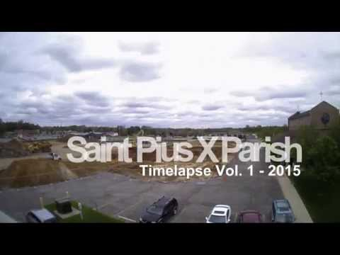 Majority Builders - Saint Pius X Church time lapse Vol 01