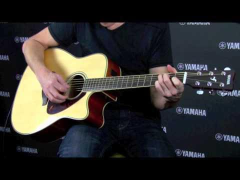 Yamaha FSX720SCII-BS Electro-Acoustic Guitar (Brown Sunburst)