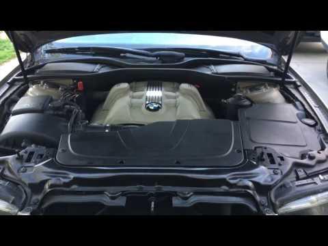 BMW 750Li E66 N62 Oil Cooler Thermostat Leak ...