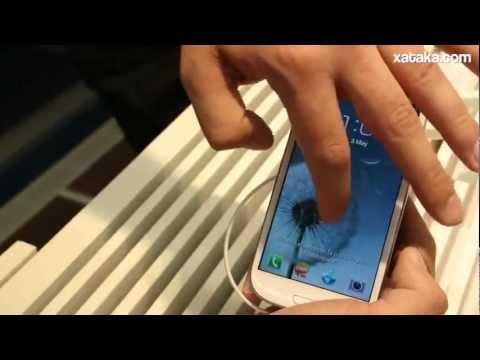 Samsung Galaxy S3 toma de contacto