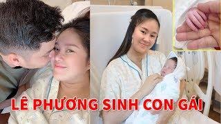 Lê Phương sinh Con Gái nặng 3,4kg tên là Bé Bông - TIN GIẢI TRÍ
