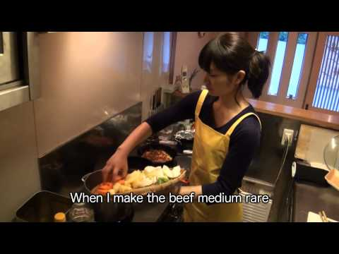 Japanese home cooking by a Japanese lady - Meat and Potatos -