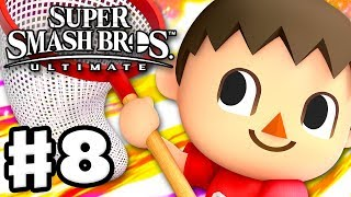 Villager! - Super Smash Bros Ultimate - Gameplay Walkthrough Part 8 (Nintendo Switch)