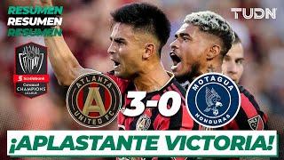 Resumen y goles | Atlanta 3 - 0 Motagua | Concacaf Champions League | TUDN