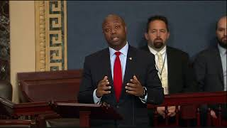 Senator Scott Discusses Senate Tax Bill on Floor