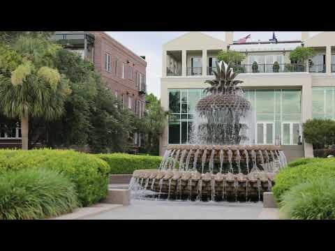 screenshot of youtube video titled Charleston's Riverfront Park   Carolina Snaps