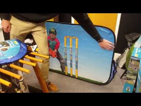 Dimension Sport Home Ground Backyard Pop Up Wicky