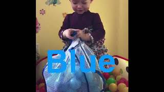 Little baby fun learning colours and alphabet red orange yellow green blue purple pink!