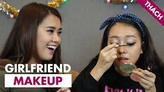 Thách Thảo 6 - Lady 9 - Girlfriend Makeup ft Băng Di   Ngọc Thảo [ Game Show Hài Hước Việt Nam ]