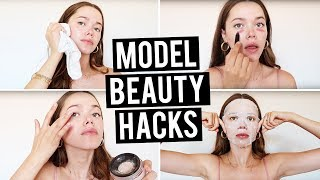 10 Model Beauty Hacks You Need to Know
