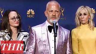 'The Assassination of Gianni Versace': 2018 Emmy Awards Winners Backstage Interview | THR