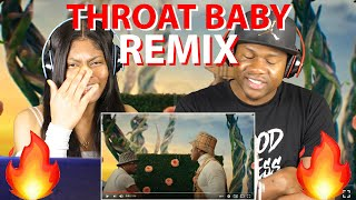 BRS Kash - Throat Baby Remix feat. DaBaby & City Girls REACTION