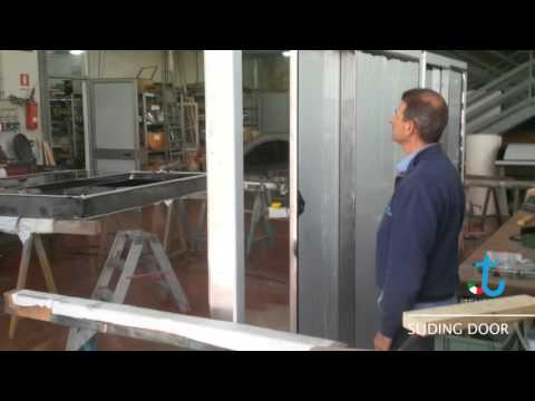 Powered Sliding Door For Yachts