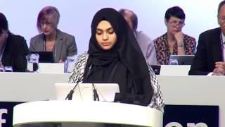 Ucapan Muslimah Pertahan Hijab yang Menggegar Eropah!