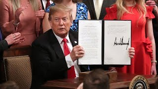 Watch live: Trump signs executive order on oil and gas pipelines