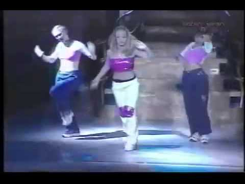 Britney Spears - Dance Introduction: School Roll Call (Live Baby One More Time Tour)
