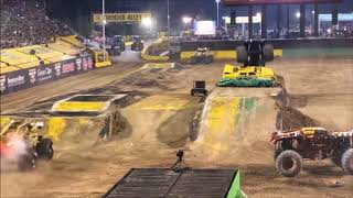 Monster Jam Crashes and Saves 23 world finals 19