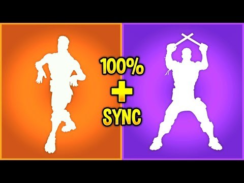 I combined my Fortnite Emotes and they synced perfectly..!