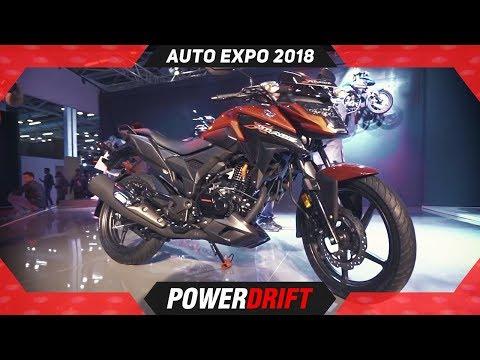 2018 Honda X Blade @ Auto Expo : PowerDrift