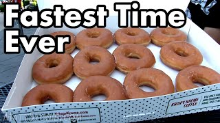12 Krispy Kreme Donuts DESTROYED
