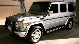An Idiot's Guide to the Mercedes G500