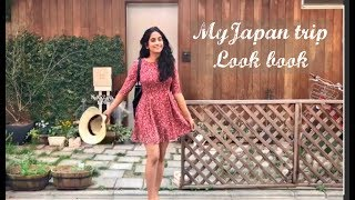 My Japan Trip Lookbook & Haul | Glimpses of Cherry Blossom in Japan