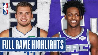 MAVERICKS at KINGS | FULL GAME HIGHLIGHTS | August 4, 2020