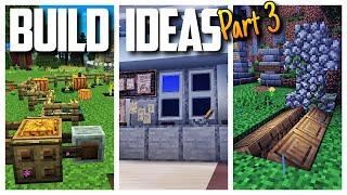 Minecraft Build Ideas!