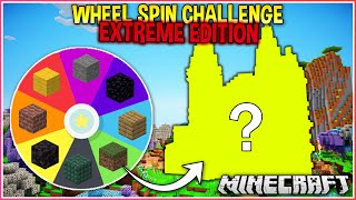 Spinning a Wheel to Decide my Minecraft House Extreme Edition!