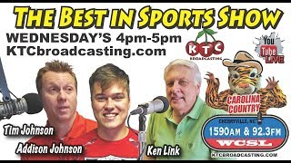 The Best in Sports Talk Show sponsored by LincolnCounty.com