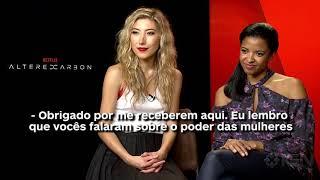 Dichen Lachman e Renée Goldsberry falam sobre o poder da mulher em Altered Carbon (entrevista IGN)