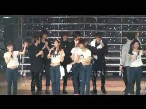 SNSD Concert- Oh! & Jessica Birthday w/ SHINee @ Shanghai (100417)